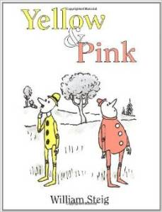 Yellow and pink children's book club